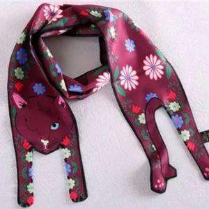 Accessories - Fashion Designer Cat Bag Neck Twilly Purse Scarf